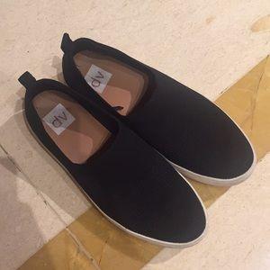 Black DV by Dolce Vita knit slip on shoes